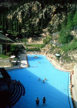 Radium Hot Springs Pool